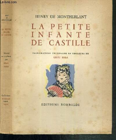 LA PETITE INFANTE DE CASTILLE HISTORIETTE.