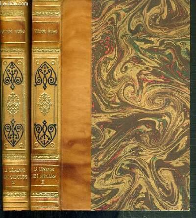 LA LEGENDE DES SIECLES - 2 VOLUMES - 1 + 2.