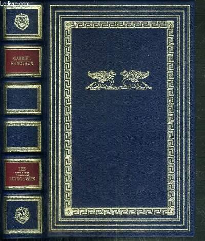 LES VILLES RETROUVEES  - THEVES D'EGYPTE - TROIE - CARTHAGE - POMPEI - HERCULANUM.