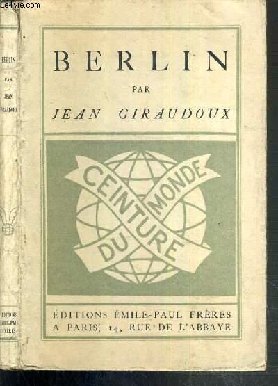 BERLIN / COLLECTION CEINTURE DU MONDE.