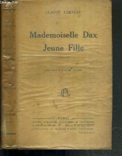 MADEMOISELLE DAX JEUNE FILLE - 50ème EDITION