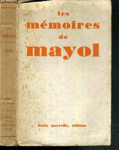 LES MEMOIRES DE MAYOL