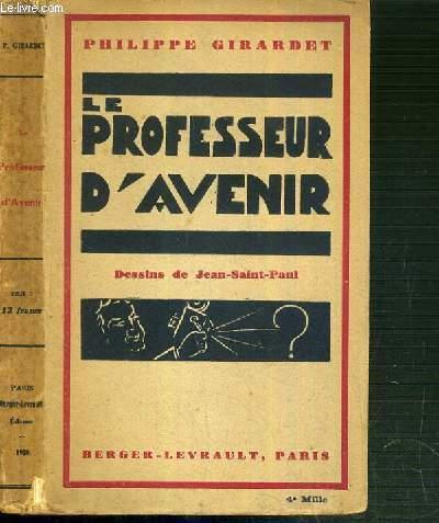 LE PROFESSEUR D'AVENIR