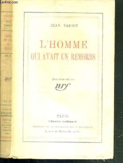 L'HOMME QUI AVAIT UN REMORDS - 4ème EDITION