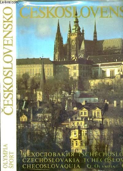CESKOSLAVENSKO - TCHECOSLOVAQUIE / TEXTE EN TCHEQUE ET SLOVAQUE