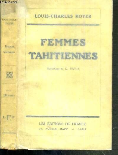 FEMMES TAHITIENNES - AUJOURD'HUI CHEZ RARAHU