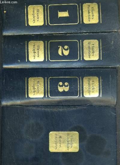 OEUVRES COMPLETES DE BAUDELAIRE - EDITION ETABLI DANS UN ORDRE NOUVEAU PRESENTE ET ANNOTE PAR YVE FLORENNE. - 3 TOMES - 1 + 2 + 3.