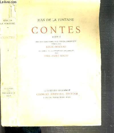 CONTES - TOME I / LE LIVRE DU BIBLIOPHILE