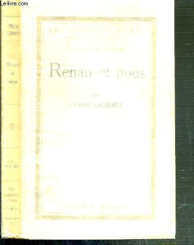 RENAN ET NOUS / LES CAHIERS VERTS N°18