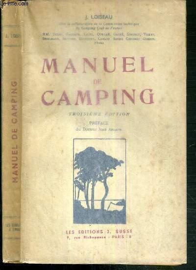 MANUEL DE CAMPING - 3ème EDITION