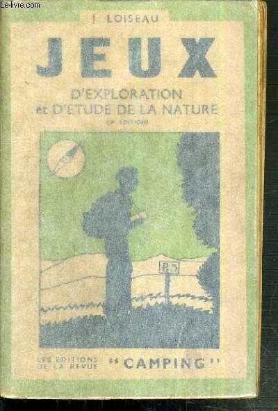 JEUX D'EXPLORATION ET D'ETUDE DE LA NATURE - 3ème EDITION