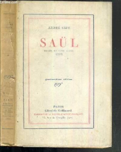 SAUL - DRAME EN CINQ ACTES 1898 - 14ème EDITION