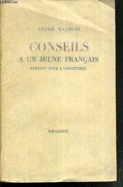 CONSEILS A UN JEUNE FRANCAIS PARTANT EN ANGLETERRE