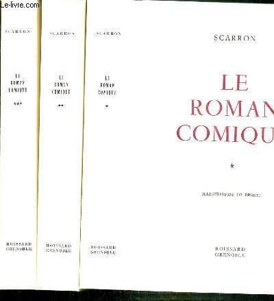 LE ROMAN COMIQUE - 3 TOMES - 1 + 2 + 3.