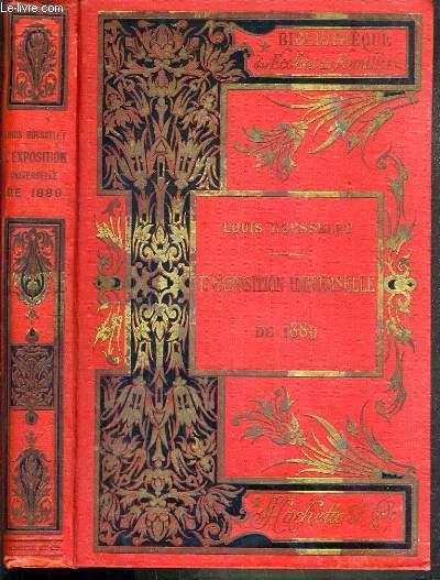 L'EXPOSITION UNIVERSELLE DE 1889 / BIBLIOTHEQUE DES ECOLES ET DES FAMILLES - SPECIMEN