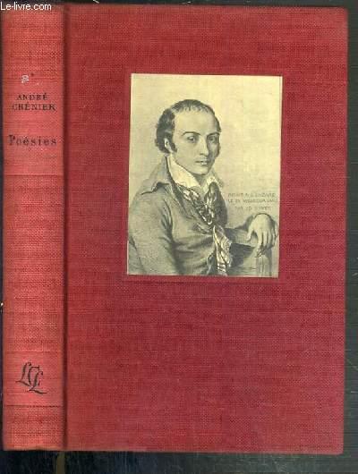 CHENIER - POESIES DE ANDRE CHENIER