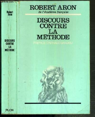 DISCOURS CONTRE LA METHODE