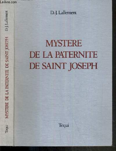 MYSTERE DE LA PATERNITE DE SAINT JOSEPH