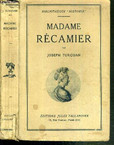 MADAME RECAMIER / BIBLIOTHEQUE