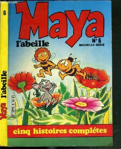MAYA L'ABEILLE - N°6 - CINQ HISTOIRES COMPLETES