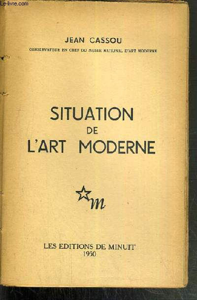 SITUATION DE L'ART MODERNE