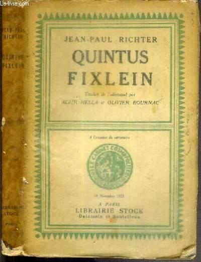 QUINTUS FIXLEIN