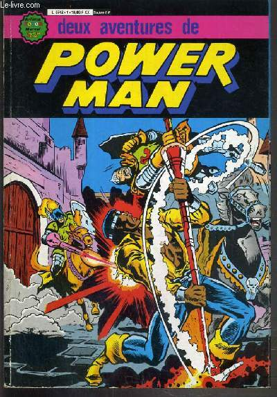 POWER MAN - LUKE CAGE, POWER MAN! + POWER MAN ET THUNDERBOLT - ALBUM N°1