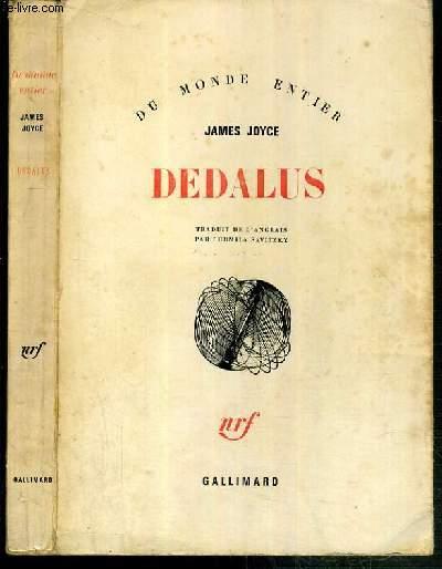 DEDALUS - PORTRAIT DE L'ARTISTE JEUNE PAR LUI-MEME / COLLECTION DU MONDE ENTIER