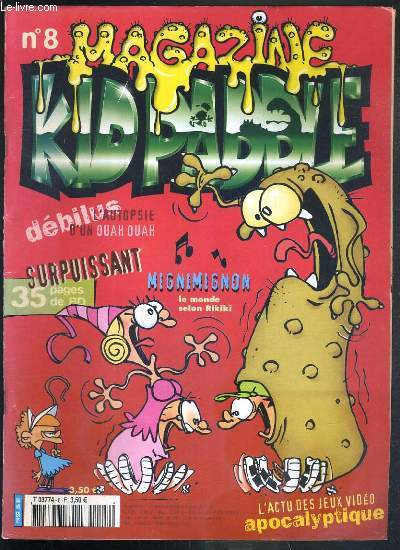Kid Paddle Magazine N 8 Novembre 2002 Sos Kid Gore City Pedro Le Coati Parker Badger Les Filles Electriques Game Over Samson Et Neon