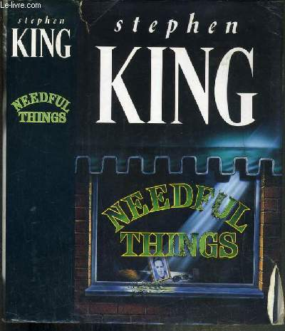 NEEDFUL THINGS - TEXTE EXCLUSIVEMENT EN ANGLAIS