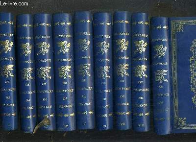 HISTOIRES D'AMOUR DE L'HISTOIRE DE FRANCE - 12 TOMES - 1 + 2 + 3 + 4 + 5 + 6 + 7 + 8 + 9 + 10 + 11 + 12.