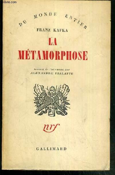 LA METAMORPHOSE / COLLECTION DU MONDE ENTIER