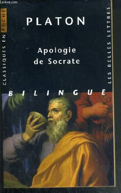 APOLOGIENDE SOCRATE - TEXTE EN GREC ET FRANCAIS EN REGARD