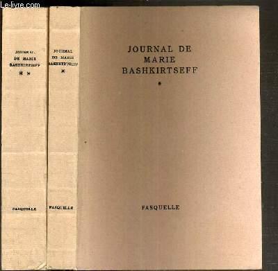 JOURNAL DE MARIE BASHKITSEFF -  2 TOMES - 1 + 2