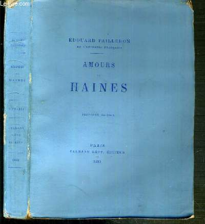 AMOURS ET HAINES - 3eme EDITION