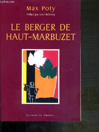 LE BERGER DE HAUT-MARBUZET