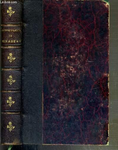 LETTRES D'AMOUR DE MIRABEAU PRECEDEES D'UNE ETUDE SUR MIRABEAU PAR MARIO PROTH - NOUVELLE EDITION