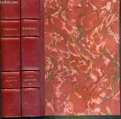 LUCIEN LEUWEN  - 2 TOMES - 1 + 2 / COLLECTION N°35 DE LA COMEDIE UNIVERSELLE