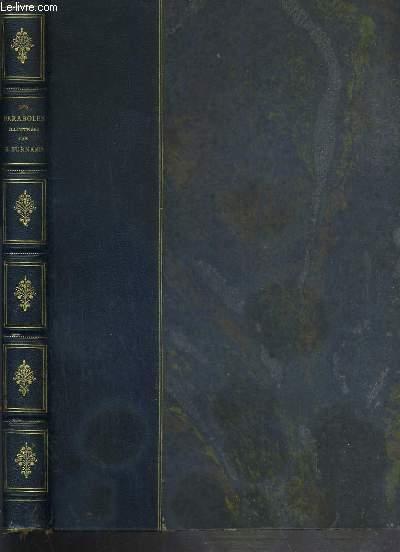 LES PARABOLES + fascicule publicitaire de l'edition Berger-Levrault concernant l'ouvrage.