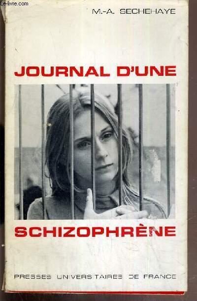 JOURNAL D'UNE SCHIZOPHRENE - AUTO-OBSERVATION D'UNE SCHIZOPHRENE PENDANT LE TRAITEMENT PSYCHOTHERAPIQUE.