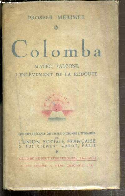 COLOMBA - MATEO FALCONE L'ENLEVEMENT DE LA REDOUTE