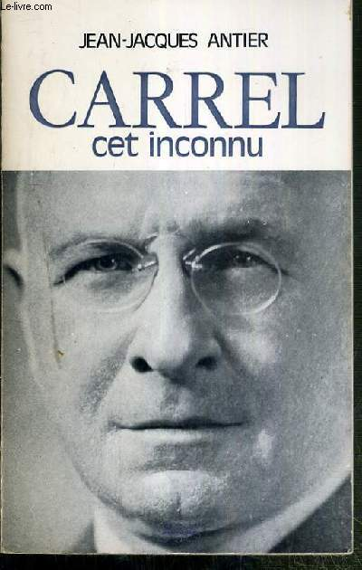 CARREL CET INCONNU / COLLECTION