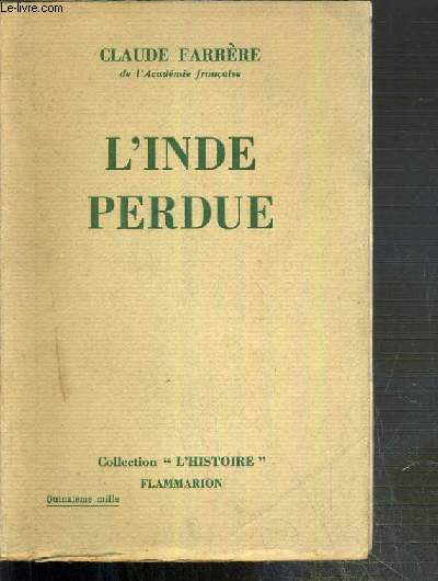L'INDE PERDUE / COLLECTION