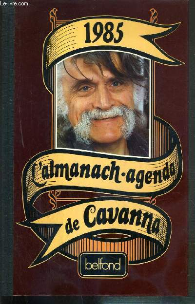 1985 - L'AMANACH - AGENDA DE CAVANNA