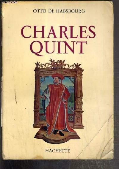 CHARLES QUINT - ENVOI DE L'AUTEUR.