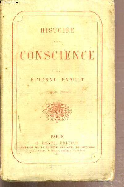 HISTOIRE D'UNE CONSCIENCE