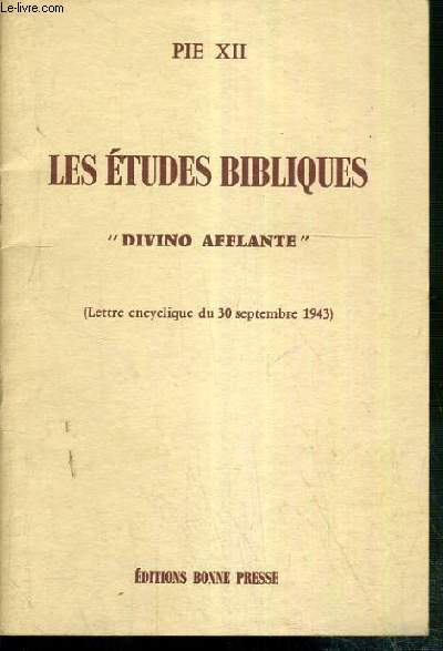 LES ETUDES BIBLIQUES
