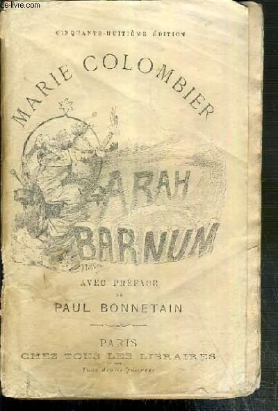 LES MEMOIRES DE SARAH BARNUM