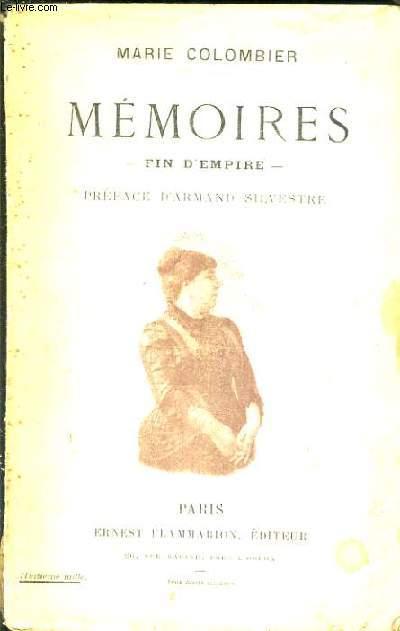 MEMOIRES FIN D'EMPIRE