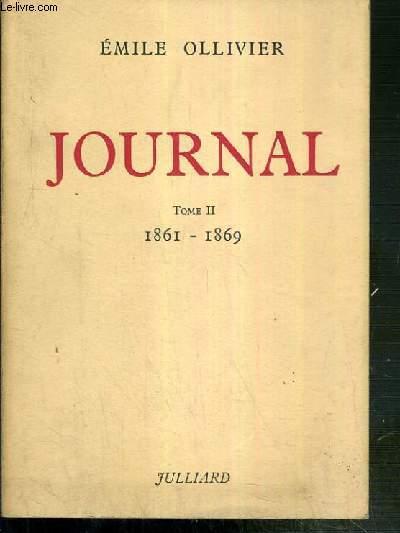 JOURNAL - TOME II. 1861-1869